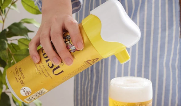 日本代购 啤酒醒酒器起泡器气泡发生器 超声波电动超细泡沫打泡机-淘宝网