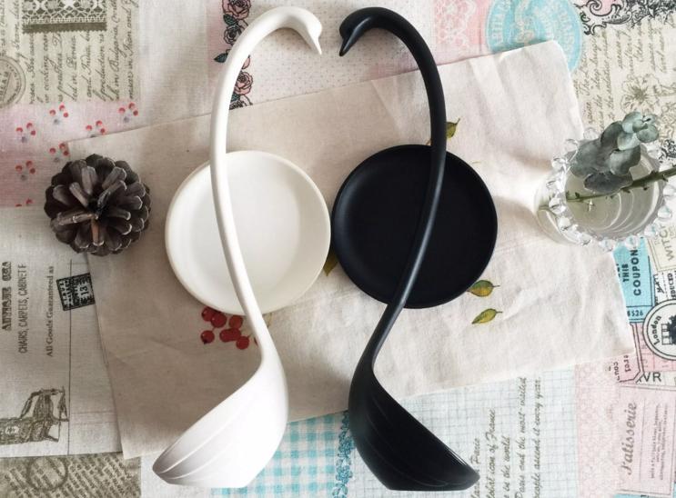 【梦田良品】出口日本Francfranc唯美天鹅创意汤勺汤匙原包装-淘宝网