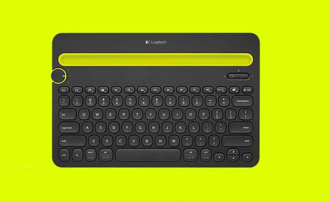 罗技K480无线蓝牙键盘苹果手机平板台式电脑办公蓝牙键盘无线键盘-tmall