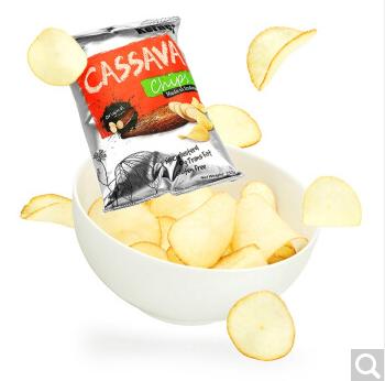Kernes 克恩兹 原味木薯片,木薯烘焙的薯片,你肯定没尝过-百货之家