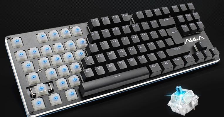 狼蛛契约者机械键盘青轴黑轴游戏背光台式电脑有线87键104键lol-tmall.com天猫