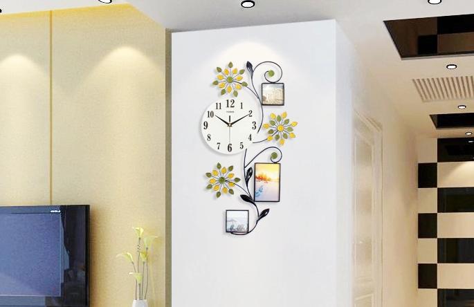 一红钟表挂钟客厅创意时钟现代欧式挂表简约大气装饰静音石英钟-tmall.com天猫